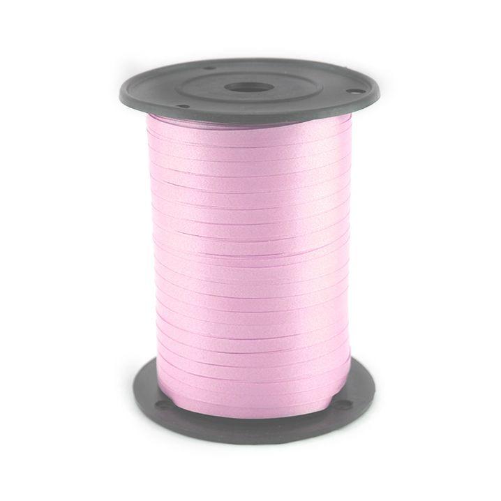 Лента Розовая.  Размер 0,5 см * 500 м