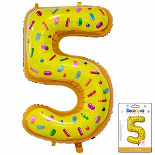 Цифра 5 Пончик в упаковке / Five