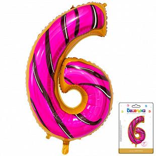 Цифра 6 Пончик в упаковке / Six