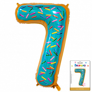 Цифра 7 Пончик в упаковке / Seven