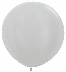 Серебро, Перламутр / Silver, размер 36