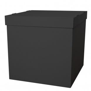 Коробка для воздушных шаров Черный, 70*70*70 см, 1 шт.