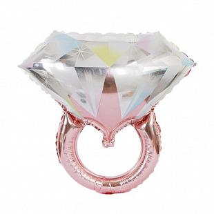 Кольцо с бриллиантом,  28
