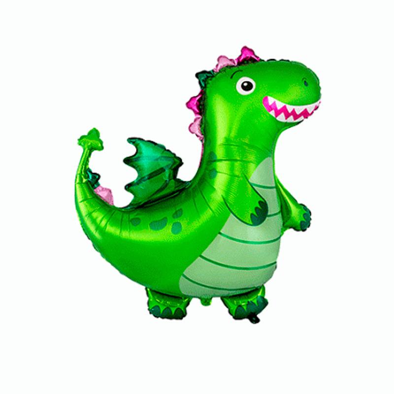 Динозаврик зеленый  , 36″/92 см.