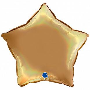 Звезда Шампань платина голография 18