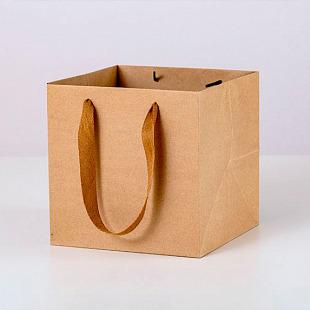 Крафт-пакет подарочный